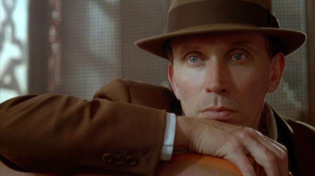 Peter Weller as Bill Lee in David Cronenberg's NAKED LUNCH.