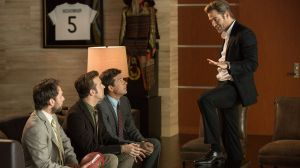 Charlie Day, Jason Sudeikis, Jason Bateman and Chris Pine star in Horrible Bosses 2.