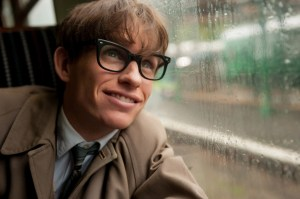 Eddie Redmayne (Les Misérables) plays Stephen Hawking in The Theory of Everything. Photo courtesy of Focus Features.