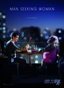 MAN SEEKING WOMAN - Key Art