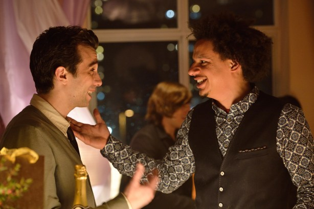 "MAN SEEKING WOMAN -- Episode 1: ""Lizard"" (Airs Wednesday, January 14, 10:30 PM e/p). Pictured: (L-R) Jay Baruchel as Josh, Eric Andre as Mike. CR: Michael Gibson/FXX."