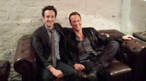 Jack Plotnick and Patrick Wilson at our SXSW SPACE STATION 76 press junket. Photo courtesy of DailyActor.