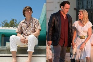 Paul Dano and John Cusack have good vibrations as Beach Boys front-man Brian Wilson in LOVE & MERCY. Photo courtesy of Roadside Attractions.