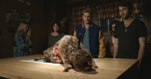 The cast of ZOMBEAVERS.