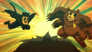 AXE COP (Airs Thursday, April 16, 12:00 a.m. E/P) Photo courtesy of FXX.
