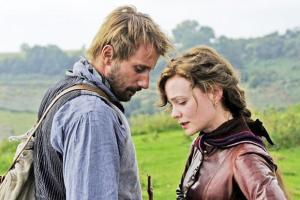 Matthias Schoenaerts and Carrie Mulligan in Far From The Madding Crowd