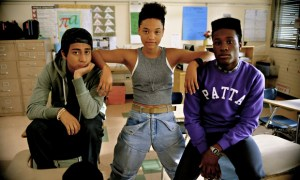 Tony Revolori, Kiersey Clemons and Shameik Moore play a trio of high school geeks in the hood of Inglewood. Photo courtesy of Open Road Films.