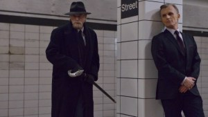 Abraham Setrakian (David Bradley) and his old enemy  Thomas Eichorst (Richard Sammel) face each other in season one, episode seven of THE STRAIN. Photo courtesy of FX.