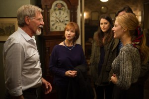 Harrison Ford, Kathy Baker, Amanda Crew, Blake Lively in THE AGE OF ADALINE.