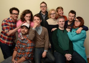 The cast and crew of COOTIES.