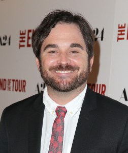 Director James Ponsoldt at the premiere of A24's 'THE END OF THE TOUR at Writers Guild Theater on July 13, 2015 in Beverly Hills, CA. Photo courtesy of Getty Images.