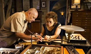 Director Jean-Pierre Jeunet and Helena Bonham Carter during the making of The Young and Prodigious T.S. Spivet. Photo courtesy of Sportsphoto/Allstar.