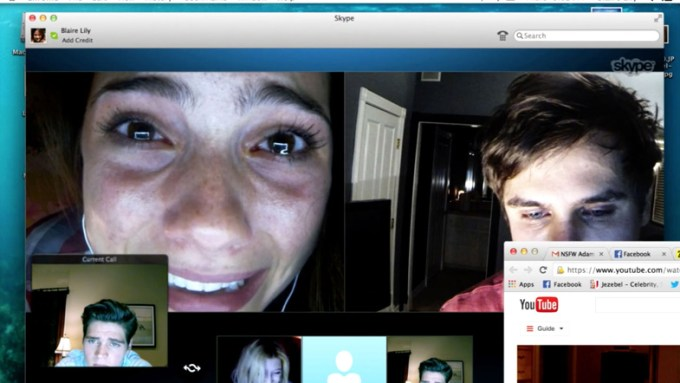 (L-R, clockwise) Shelley Hennig, Moses Jacob Storm, Renee Olstead, Jacob Wysocki, Will Peltz in UNFRIENDED courtesy of Universal Pictures.