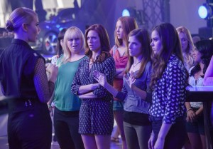 The Barden Bellas face off against rivals in PITCH PERFECT 2. Courtesy of Universal Pictures.