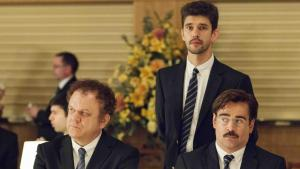 From Left to right John C. Reilly, Ben Whisaw and Collin Farrell (photo courtesy of Picturehouse)