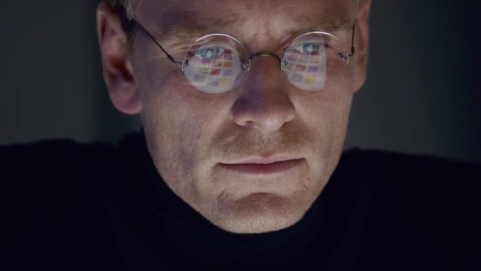Michael Fassbender as Steve Jobs in STEVE JOBS. Photo courtesy of Universal Pictures.