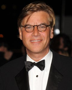 Aaron Sorkin attends the London Film Critics' Circle Film Awards. Photo courtesy of Rune Hellestad.