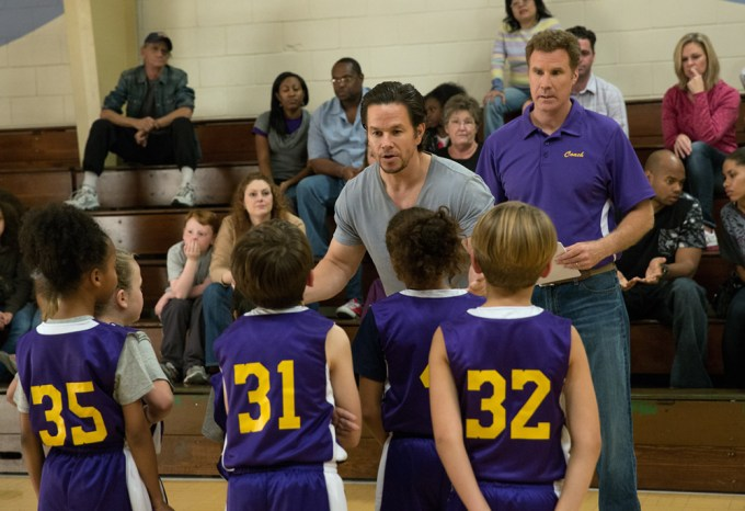 eft to right: Mark Wahlberg plays Dusty Mayron and Will Ferrell plays Brad Whitaker in Daddy's Home from Paramount Pictures and Red Granite Pictures Photo credit: Hilary Brown Gayle © 2015 PARAMOUNT PICTURES. ALL RIGHTS RESERVED.
