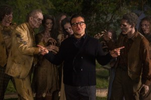 Jack Black stars as R.L. Stine in GOOSEBUMPS. Photo courtesy of Columbia Pictures.