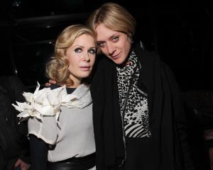 Filmmaker Tara Subkoff and Chloë Sevigny. Photo courtesy of GossipDavid.