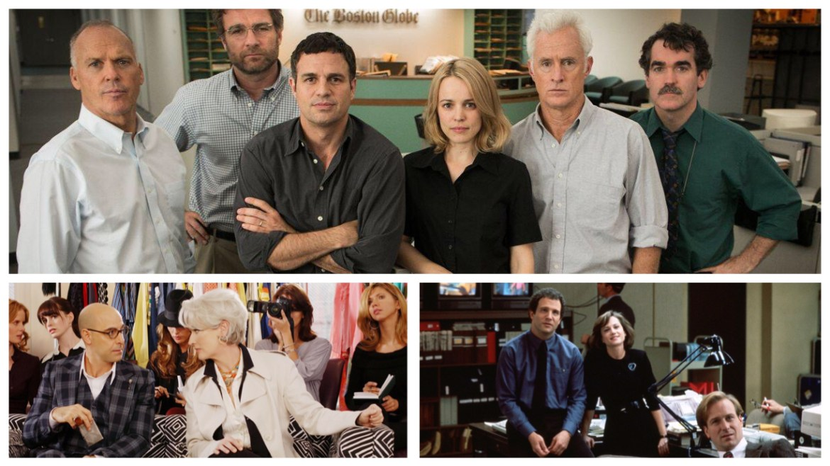 #TBThursday Review: Shining the 'SPOTLIGHT' on Workplace Films
