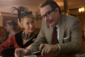 Helen Mirren and Bryan Cranston have a chat in TRUMBO. Courtesy of Bleeker Street.