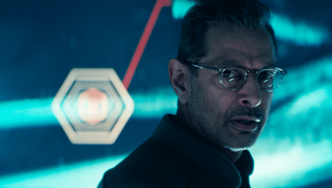 Jeff Goldblum in INDEPENDENCE DAY: RESURGENCE. Courtesy of 20th Century Fox.