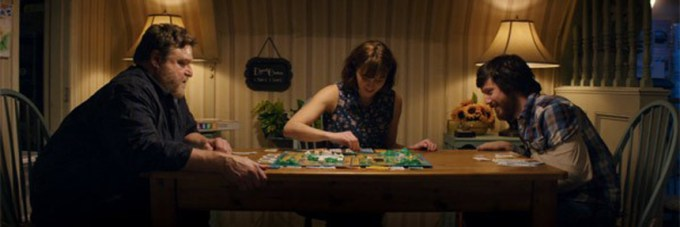 John Goodman, Mary Elizabeth Winstead and John Gallagher Jr. in 10 CLOVERFIELD LANE. Courtesy of Paramount Pictures.