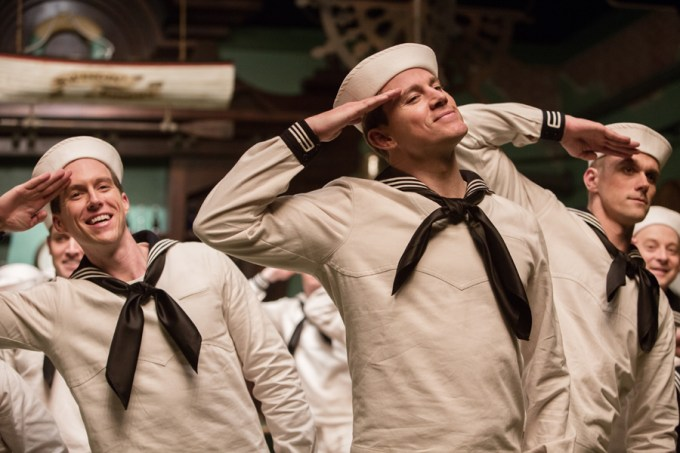 Channing Tatum in HAIL, CEASAR! Courtesy of Universal Pictures.