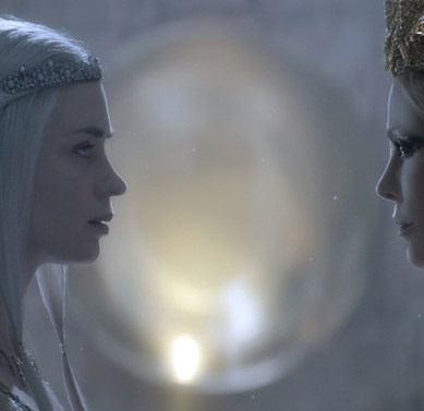 Charlize Theron & Emily Blunt Are Locked In Sibling Rivalry In 'THE HUNTSMAN: WINTER'S WAR' Trailer