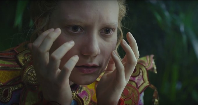Mia Wasikowska in ALICE THROUGH THE LOOKING GLASS. Courtesy of Walt Disney Pictures.