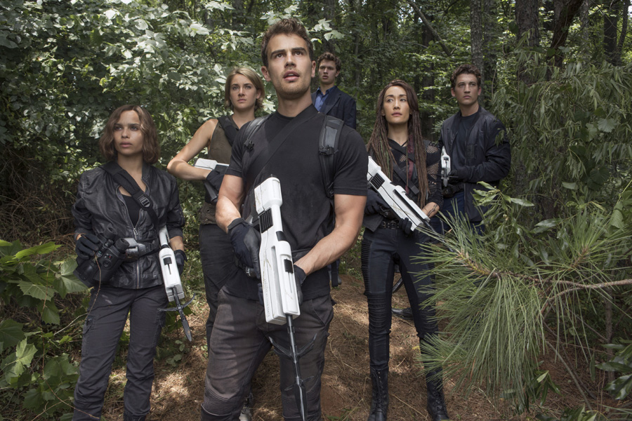 ALLEGIANT Producers Lucy Fisher & Douglas Wick on making a political film during an election