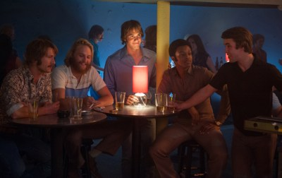 The cast of EVERYBODY WANTS SOME. Photo courtesy of Paramount Pictures.