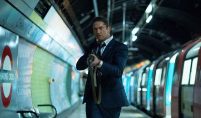 Gerard Butler is Mike Banning. Photo courtesy of Gramercy Pictures.