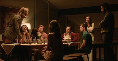 The cast of THE INVITATION. Photo courtesy of Drafthouse Films.