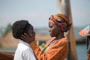 Madina Nalwanga and Lupita Nyong'o in QUEEN OF KATWE. Courtesy of Walt Disney Pictures.
