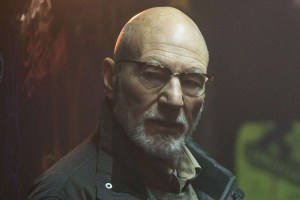Patrick Stewart as Darcy Banker. Photo courtesy of Scott Patrick Green / A24 Films.