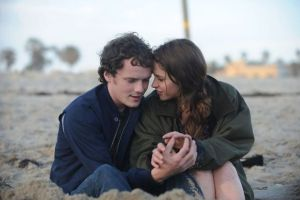Yelchin and Felicity Jones in 2011's LIKE CRAZY. Photo courtesy of Paramount Vintage.