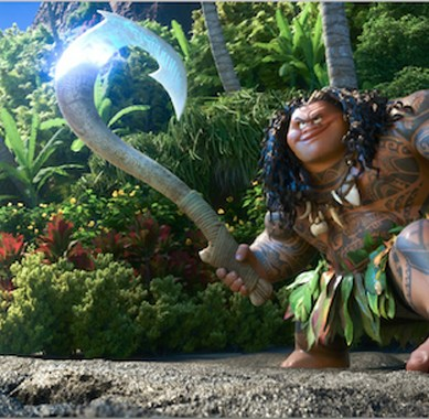 'MOANA' teaser features Lin-Manuel Miranda's music & demi-god Maui rather than titular heroine