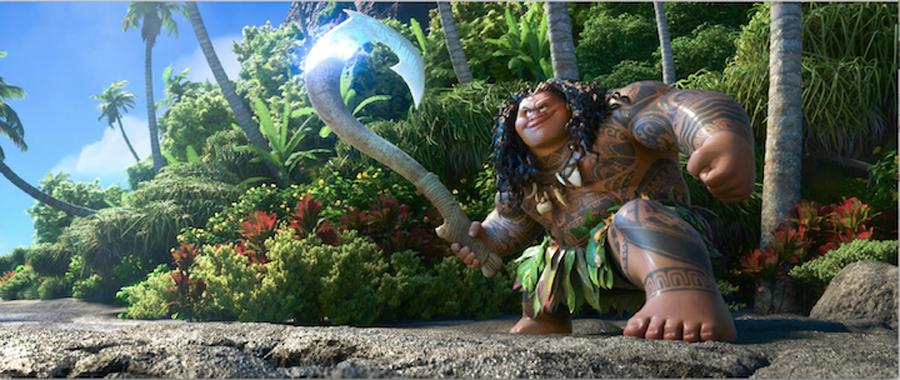 'MOANA' teaser features Lin-Manuel Miranda's music & demi-god Maui rather than titular heroine