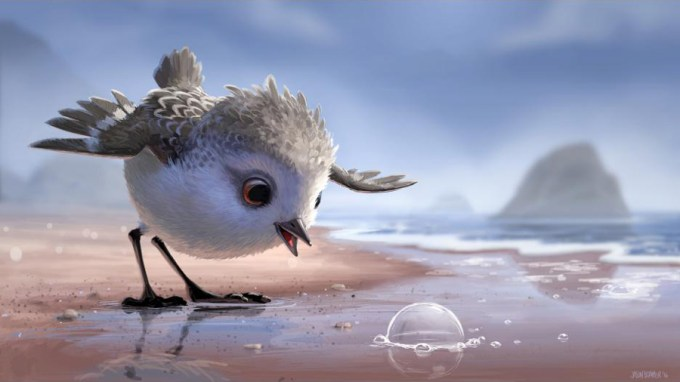 We can't even deal with how cute PIPER is! Courtesy of Disney-Pixar.