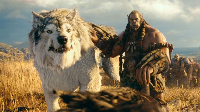 Toby Kebbell voices Durotan in WARCRAFT. Courtesy of Universal Pictures.