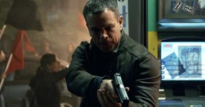 Matt Damon is JASON BOURNE. Courtesy of Universal Pictures.