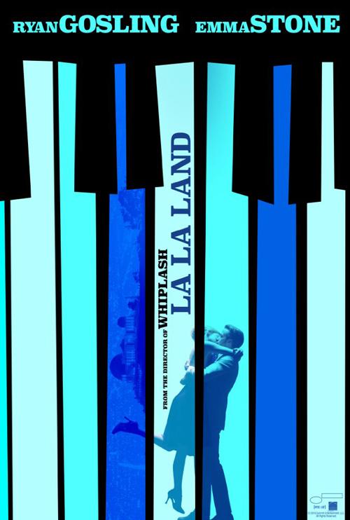LA LA poster