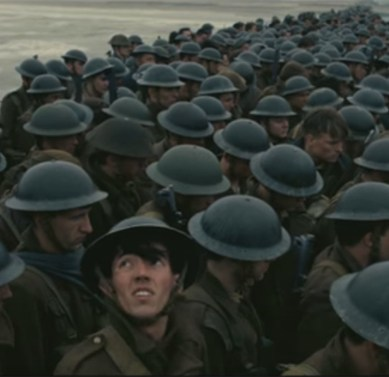 Christopher Nolan amps up the gripping tension of world history in 'DUNKIRK'