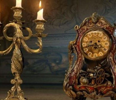 "Take a look at 'BEAUTY AND THE BEAST""s Lumiere, Cogsworth, Gaston & Le Fou!"