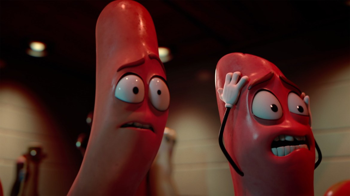 Movie Review: 'SAUSAGE PARTY' taps into every foodie's nightmare