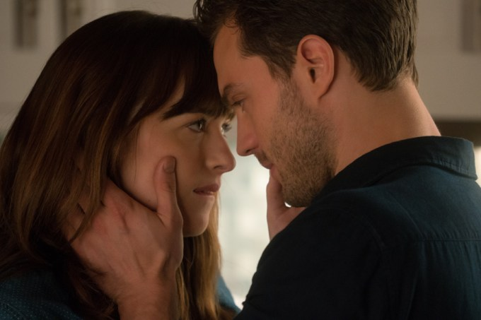 Dakota Johnson and Jamie Dornan take things FIFTY SHADES DARKER. Courtesy of Universal Pictures.