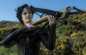Eva Green in MISS PEREGRINE'S HOME FOR PECULIAR CHILDREN. Courtesy of 20th Century Fox.