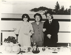 Choi Eun-hee, Kim Jong-il, Shin Sang-ok photo from THE LOVERS AND THE DESPOT courtesy of Magnolia Pictures.